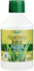 Aloe vera juice maximum front